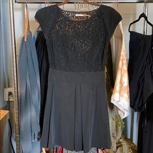 Kimchi blue black lace dress